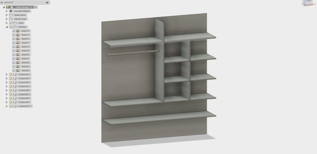 Closet Design 1